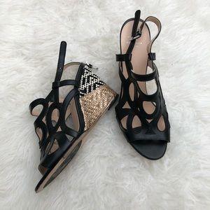 Aquatalia Wedge Sandals Size 8.5